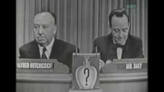 Alfred Hitchcock on What