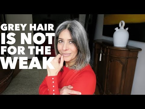 Grey Hair is not for the WEAK | Rocking Fashion & Life in my 50's