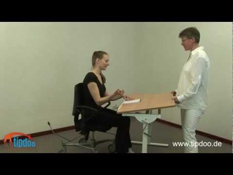 Video: Nitzbon® Ergonomic Desk VA