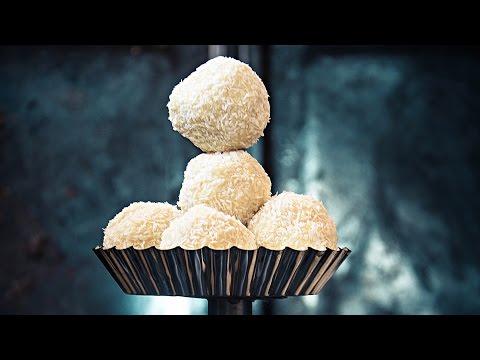 White Chocoalte Coconut Truffles