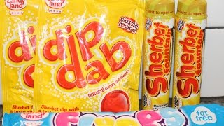 England Eatables #25 Candyland: Dip Dab, Sherbet Fountain & Flumps