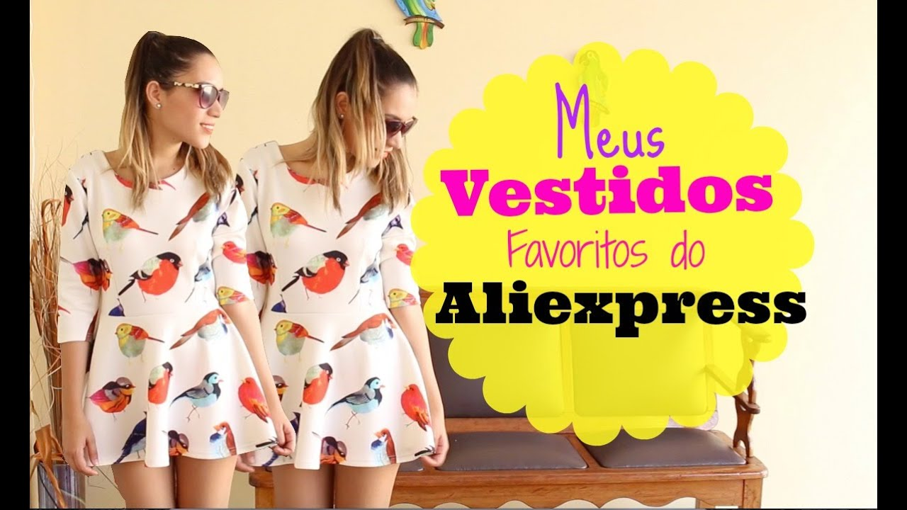 Vestidos mais bonitos do aliexpress