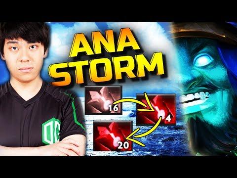 9k ANA Insane 13min Bloodstone Storm - 31 Kills vs. Counterpick - DOTA 2