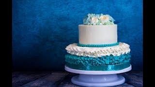 Как собрать и украсить двухъярусный торт. Рецепт торта Монастырская изба и Спартак