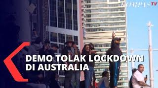 Download Warga Tolak Kebijakan Lockdown di Australia, Provokator Berhasil Ditangkap