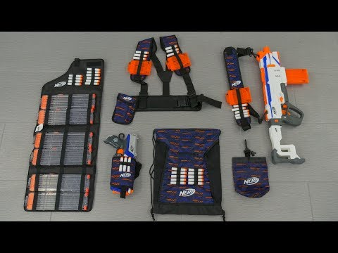[REVIEW] Nerf Tactical Gear | Bulk Review!