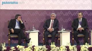 Թուրք լրագրողի հարցը Սերժ Սարգսյանին