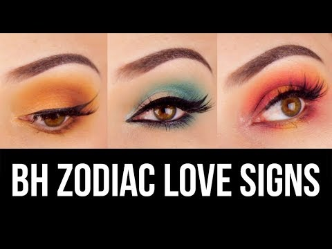 3 Eye Makeup Looks, 1 Palette: BH Cosmetics Zodiac Love Signs || KELLI MARISSA