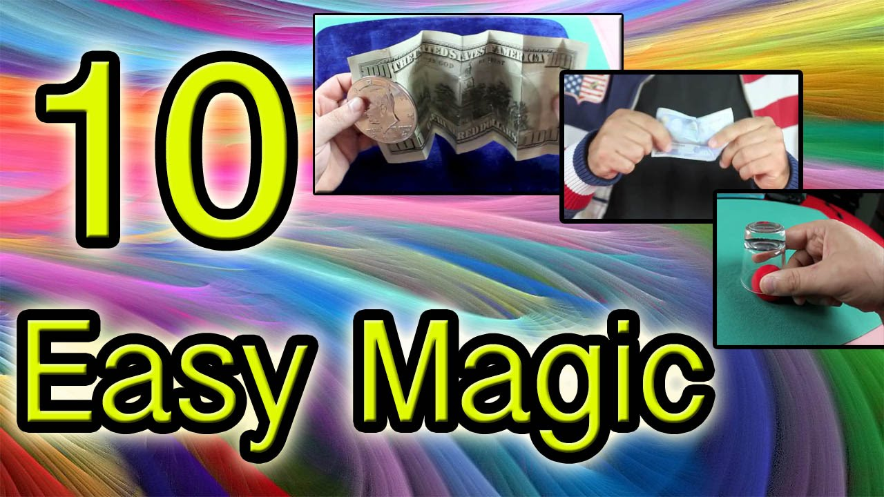 7 Easy Magic Tricks revealed: Learn These Cool Popular ...