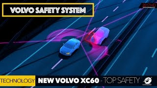 NEW VOLVO XC60 Car Top Safety Technology Systems (Video 4/4) [GOMMEBLOG]