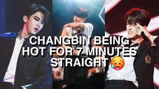 THE REASON HARD CHANGBIN STANS EXIST // CHANGBIN BEING HOT AND DISRESPECTFUL FOR 7 MINUTES STRAIGHT