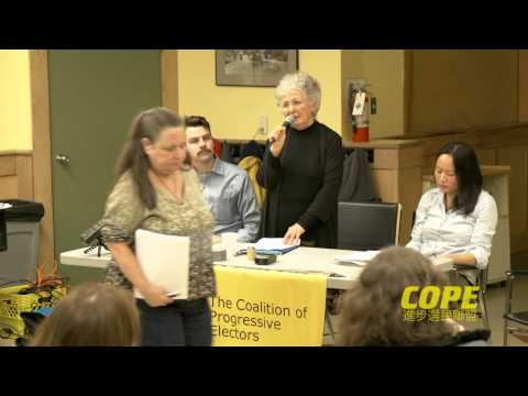 Rent Control Forum - Gail Harmer