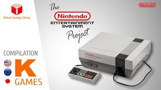 The NES / Nintendo Entertainment System Project - Compilation K - All NES Games (US/EU/JP)