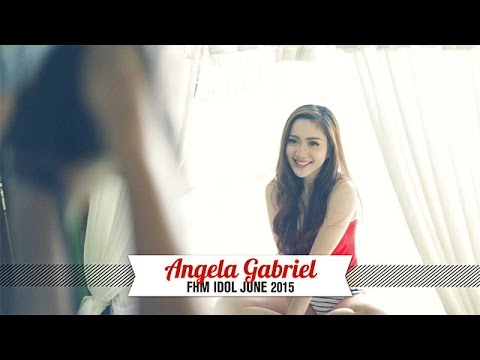 Behind The Scenes At Angela Gabrielle's FHM Idol Shoot