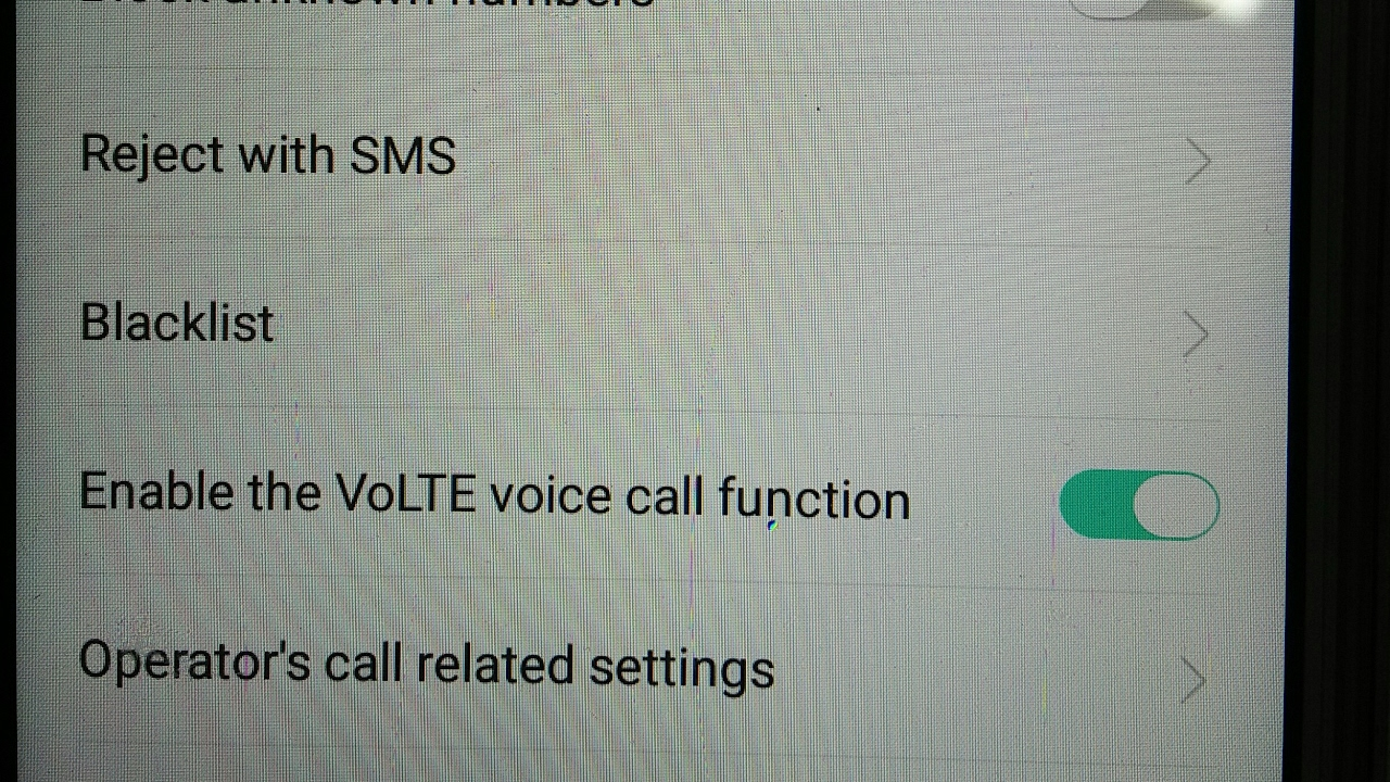 Call Setting In Oppo