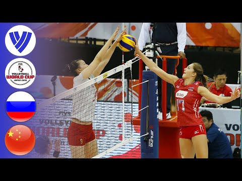 Russia vs. China - Full Match | Women's Volleyball World Cup 2015