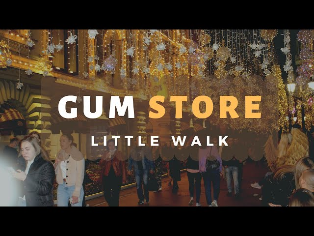 GUM store on  Red Square