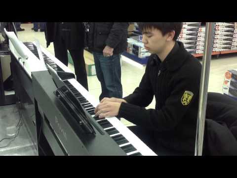 Наиграй на пианино  Технодом, Casio.