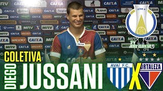 [Série B '18] Coletiva Diego Jussani | Pré-jogo Avaí FC/SC X Fortaleza EC | TV ARTILHEIR⚽