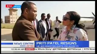 British Minister Priti Patel resigns