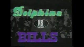 1993-09-26 Miami Dolphins vs Buffalo Bills(Marino vs Kelly)