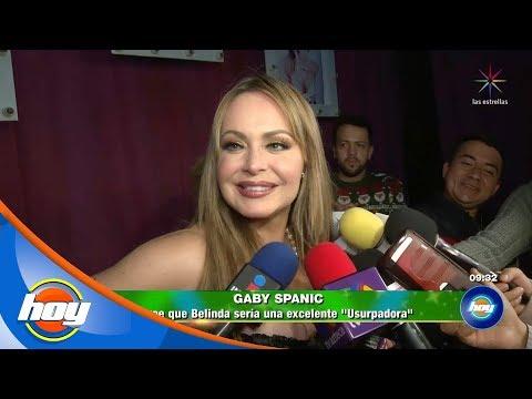 Gaby Spanic da el visto bueno a Belinda para ser la nueva 'Usurpadora' | Hoy