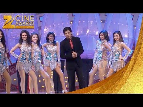 Zee Cine Awards 2012 SRK & Pc Funny Ra One Movie