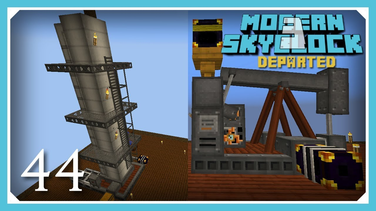Modern Skyblock 3 Departed | Pumpkack & Distillation Tower! | E44 (Modern  Skyblock 3 Gated) by Ector Vynk