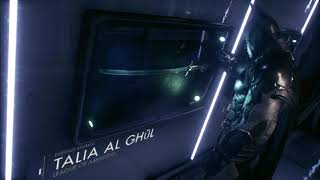 Batman remembering Talia in BATMAN ARKHAM KNIGHT