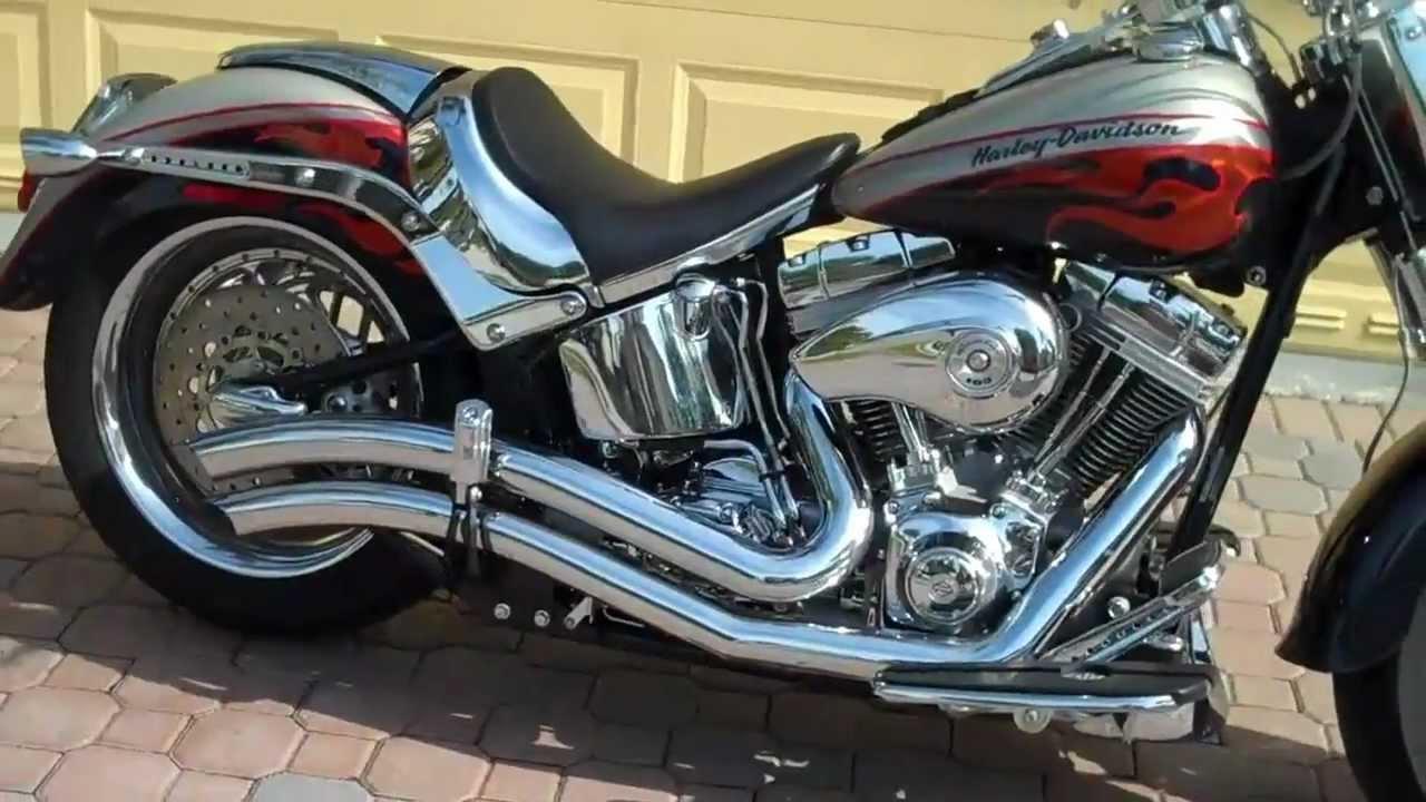 2006 Harley Davidson Screamin Eagle Fatboy 103ci Baker 6 Speed Classicandmusclecar Com Youtube