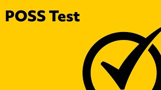 poss test mechanical concepts study guide