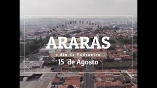 156 anos de fundação da cidade de Araras SP