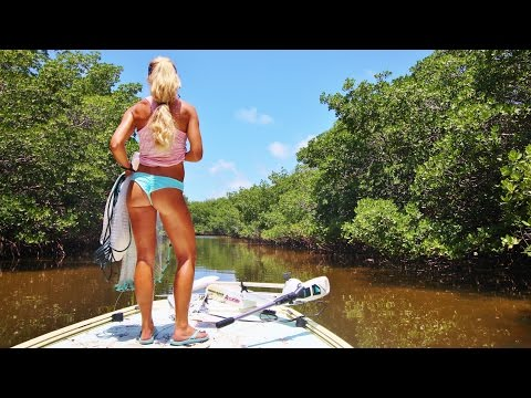Florida Keys Inshore Fishing for Bait & Tarpon VLOG; Day 2