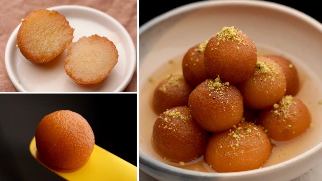 جولاب جامون.. ألذ الحلويات الهندية بأسهل طريقة ومكونات في كل بيت!