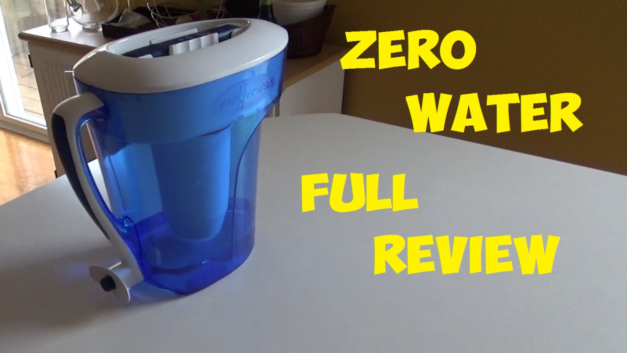 Zerowater Water Filter Full Review 10 Cup Water Pitcher