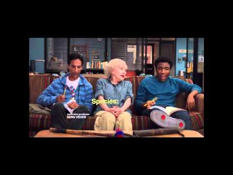 Community Season 2 - Africa Rap (end credits)