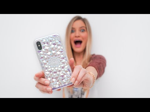 Download Youtube: Holo iPhone X Case!