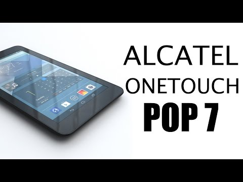 Alcatel Onetouch Pop 7 Review!