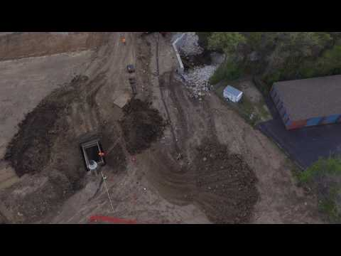 2017 4 12 Dried Out Installing Underground Utilities