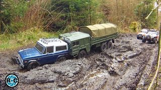 RC MUD 4x4 & 6x6 ADVENTURE TOUR TO THE GREEN LAKE