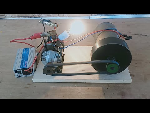 free electricity generator 220v real free energy generator diy school project exhibition