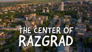 The Center Of Razgrad From The Sky