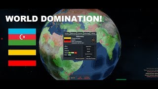 ROBLOX Rise Of Nations - Domination as Transcaucasia! [HUGE WAR]