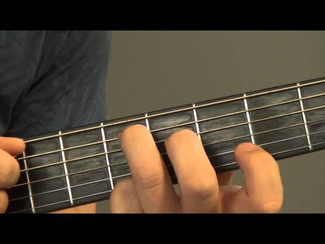 The Scene - Iedereen is van de Wereld - gitaaruitleg - gitaarles