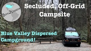 Full Time Vanlife | Primitive Camping in the Appalachian Mountains | Site Review Tuesday!