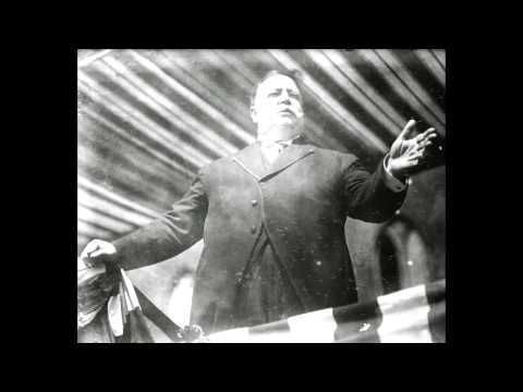 """William H. Taft """"Who Are the People?"""" Speech (1912) [AUDIO RESTORED]"""