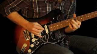 Fender Stevie Ray Vaughan SRV Stratocaster Tone Review and Demo