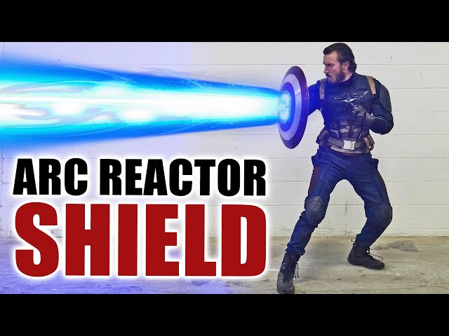 Captain America ARC REACTOR SHIELD in REAL LIFE! - the Hacksmith