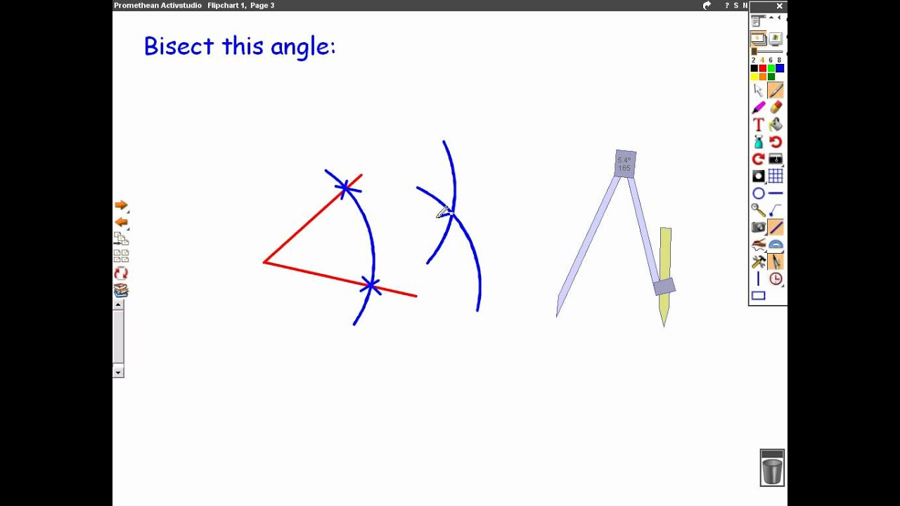 Compass Mathscasts Bisecting Lines Amp Angles