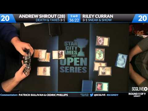 SCGINDY - Legacy - Round 5 - Riley Curran vs Andrew Shrout